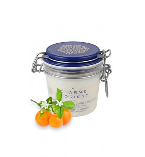 Charme D Orient (Шарм Ориент) Beurre Karite Argan Fleur d'Oranger / Масло карите + аргана с ароматом цветков апельсинового дерева, 200 г