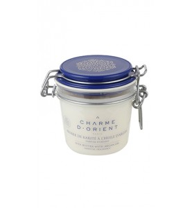 "Charme D Orient (Шарм Ориент) Beurre Karite Argan Parfum Reflets du Bosphore / Масло карите + аргана с ароматом ""Огни Босфора"", 200 г"