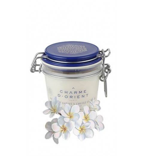 Charme D Orient (Шарм Ориент) Beurre Karite Argan Fleurs / Масло карите + аргана с ароматом цветов, 200 г