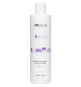 Christina (Кристина) Fresh Aroma Therapeutic Cleansing Milk for dry skin / Ароматерапевтическое очищающее молочко для сухой кожи, 300 мл