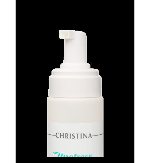 Christina (Кристина) Unstress Comfort Cleansing Mousse / Очищающий мусс-комфорт, 200 мл