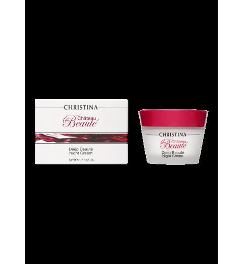 Christina (Кристина) Chateau de Beaute Deep Beaute Night Cream / Интенсивный обновляющий ночной крем, 50 мл