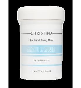 Christina (Кристина) Sea Herbal Beauty Mask Azulene for sensitive skin / Маска красоты на основе морских трав для чувствительной кожи «Азулен», 250 мл