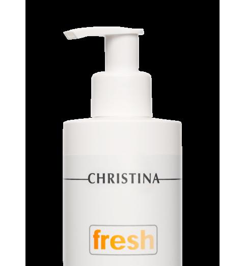 Christina (Кристина) Fresh AHA Cleansing Gel for all skin types, pH 2,6-3,6 / Очищающий гель с фруктовыми кислотами для всех типов кожи, 300 мл