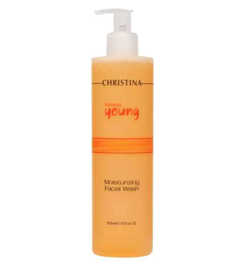 Christina (Кристина) Forever Young Moisturizing Facial Wash, pH 7,8-8,8 / Увлажняющий гель для умывания, 300 мл