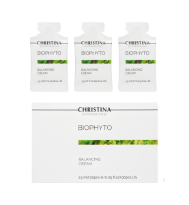 Christina (Кристина) Bio Phyto Balancing Cream / Балансирующий крем в саше, 30 шт по 1,5 мл