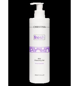 Christina (Кристина) Fresh Milk Cleansing Gel for dry and normal skin / Молочный очищающий гель для сухой и нормальной кожи, 300 мл