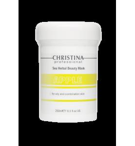 Christina (Кристина) Sea Herbal Beauty Mask Apple for oily and combination skin / Маска красоты на основе морских трав для жирной и комбинированной кожи «Яблоко», 250 мл
