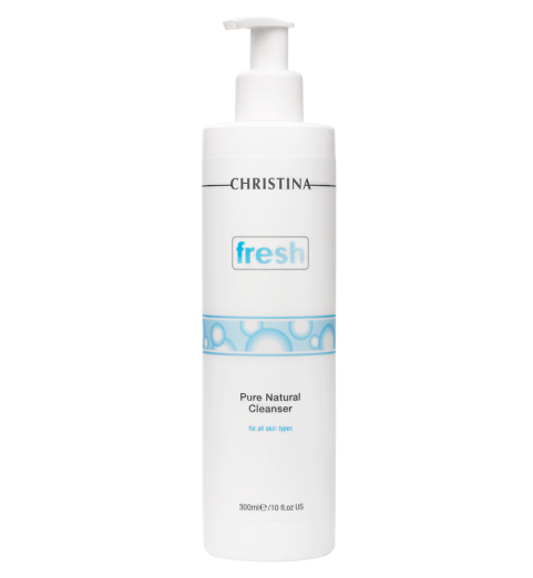 Christina (Кристина) Fresh Pure & Natural Cleanser / Натуральный очищающий гель для всех типов кожи, 300 мл