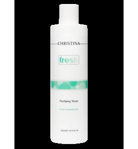 Christina (Кристина) Fresh Purifying Toner for oily skin / Очищающий тоник для жирной кожи, 300 мл