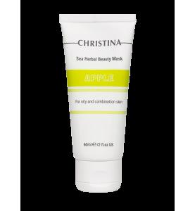 Christina (Кристина) Sea Herbal Beauty Mask Apple for oily and combination skin / Маска красоты для жирной и комбинированной кожи «Яблоко», 60 мл