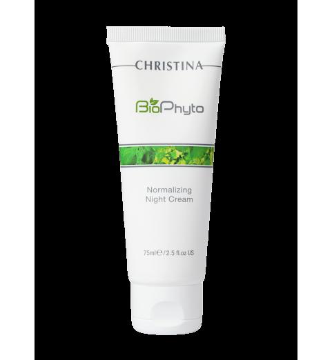 Christina (Кристина) Bio Phyto Normalizing Night Cream / Нормализующий ночной крем, 75 мл