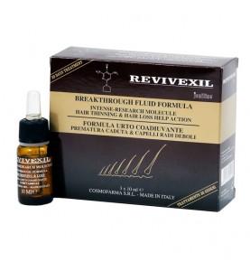 Cosmofarma Revivexil (Ревивексил) Breakthrough Scalp & Hair Therapy Fluid Formula / Лосьон для волос Ревивексил, 3 по 10 мл