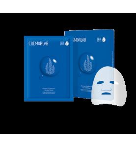 Cremorlab (Креморлаб) Marine Hyaluronic Revital Mask  / Ревитализирующая маска с морскими водорослями и гиалуроновой кислотой, 5 шт по 25 мл