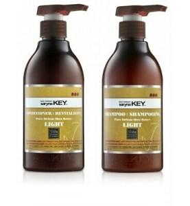 Saryna Key (Сарина Кей) Damage Repair Light Kit / Набор: шампунь и кондиционер с Африканским маслом Ши для сухих и повреждённых волос, 2*500 мл