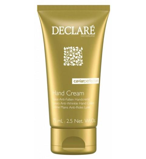 Declare (Декларе) Luxury Anti-Wrinkle Hand Cream / Крем-люкс для рук против морщин с экстрактом черной икры, 75 мл