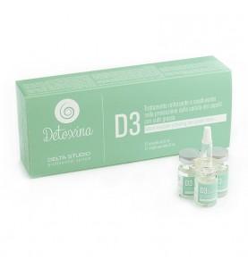Delta Studio D3 / Средство укрепляющее для волос при жирной коже, 12 шт по 6 мл