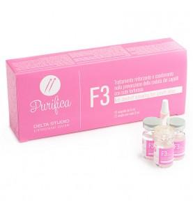 Delta Studio F3 / Средство укрепляющее для волос при перхоти, 12 шт по 6 мл