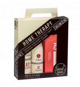 Delta Studio Набор домашней терапии при выпадении волос и для стимуляции их роста (Шампунь A1+ , масло А2, Лосьон А3)