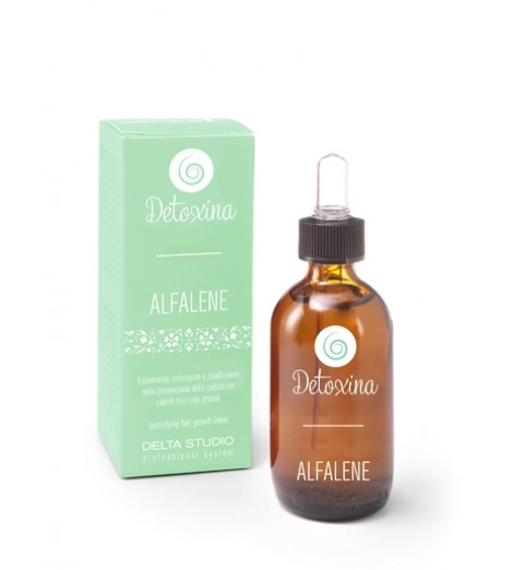 Delta Studio Detoxina - Lozione Alfalene / Лосьон от выпадения для жирных волос, 50 мл