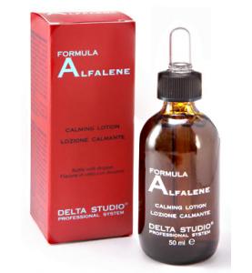 Delta Studio Formula Alfalene / Лосьон восстанавливающий Алфалин при сухой перхоти, 50 мл