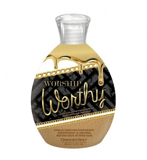 Designer Skin Worship Wotrhy / 7Х Питательный крем-бронзатор с ухаживающим комплексом, 400 мл