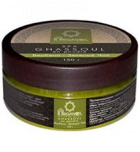 Diar Argana Ghassoul en poudre / Глина Гассул с ароматом Вербена-Зеленый Чай, 150 г