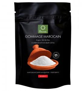Diar Argana Gommage Marocain / Соляной скраб с маслом арганы Марокканский мандарин-Грейпфрут, 200г