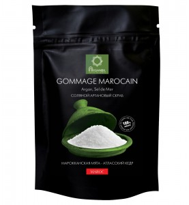 Diar Argana Gommage Marocain / Соляной скраб с маслом арганы Марокканская мята-Атласский кедр, 200г