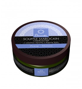 Diar Argana Souffle Marocain / Суфле-баттер (взбитое масло карите с маслом арганы), Инжир-Молоко, 140 мл