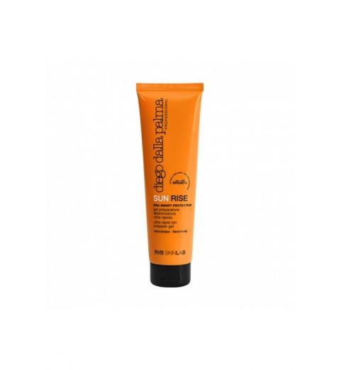 Diego dalla Palma Sun Rise Ultra Rapid Tan Preparer Gel / Гель - быстрый загар для лица и тела, 150 мл