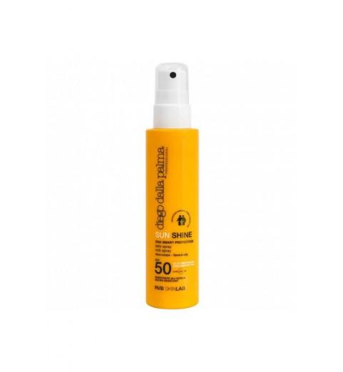 Diego dalla Palma Sun Shine Milk Spray Face-Body Family Prote / Спрей-молочко SPF 50, 150 мл