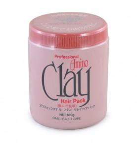 Dime Professional Amino Clay Pack / Маска для поврежденных волос с аминокислотами и глиной, 800 г