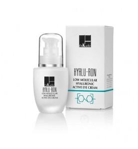 Dr. Kadir Hyalu-Ron Low Molecular Hyaluronic Active Eye Cream / Гиалуроновый активный крем для глаз, 30 мл