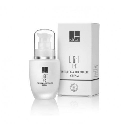 Dr. Kadir Light E+C Eye Neck & Decolte Cream / Крем для области вокруг глаз и шеи c витаминами Е+С, 30 мл