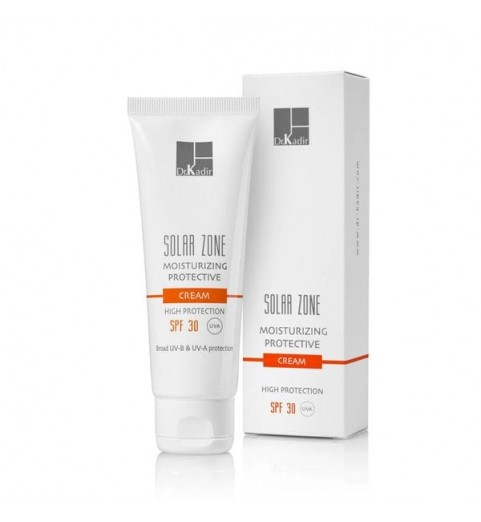 Dr. Kadir Solar Zone Moisturizing Protective Cream SPF 30 / Защитный увлажняющий крем SPF 30, 75 мл