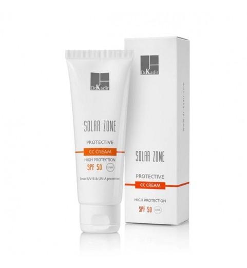 Dr. Kadir Solar Zone Protective CC Cream SPF 50 / Защитный крем с тоном SPF 50, 75 мл
