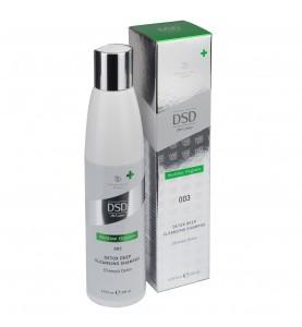 DSD de Luxe Detox Deep Cleansing Shampoo / Детокс глубоко очищающий шампунь, 200 мл