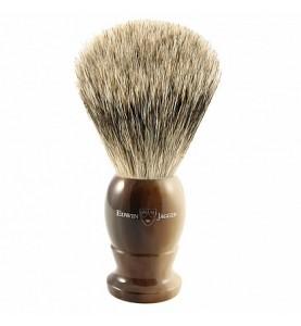 Помазок Edwin Jagger 1EJ872 темно-коричневый, барсучий ворс