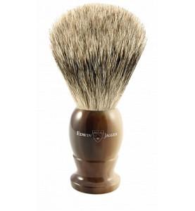 Помазок Edwin Jagger 9EJ872 темно-коричневый, барсучий ворс