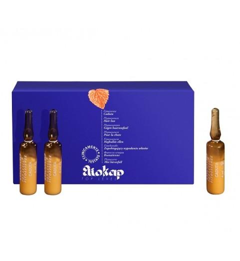 Eliokap Top Level Fitoessence Caduta / Фитоэссинция от выпадения волос, 6 ампул по 4 мл