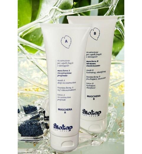 Eliokap Maschera Set / Набор масок для глубокого восстановления волос (Маска А + Маска В), 125 мл*2