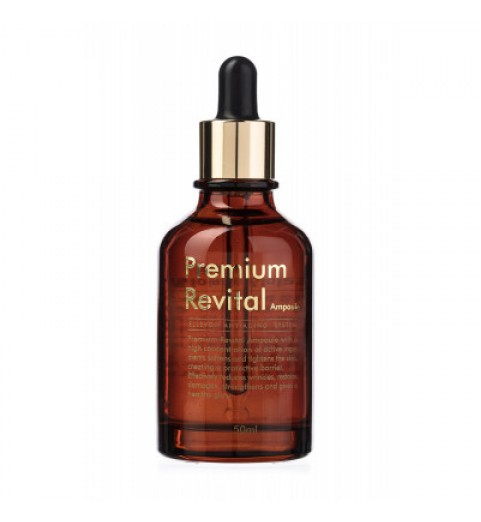 Ellevon (Эллевон) Premium Revital Ampoule / Премиум ревитализирующая сыворотка, 50 мл