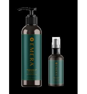 Emera Nourishing Cbd Shampoo, Scalp Therapy / Набор очищение и питание, 296 мл + 118 мл