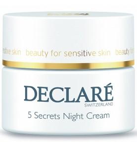 Declare (Декларе) 5 Secrets Night Cream / Ночной восстанавливающий крем «5 секретов», 50 мл