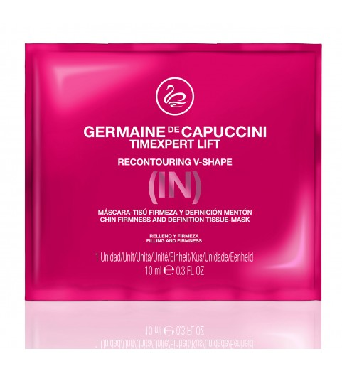 Germaine de Capuccini Chin Firmness And Definition Tissue-Mask / Реконтурирующая маска V-Shape 420019, 2 шт.
