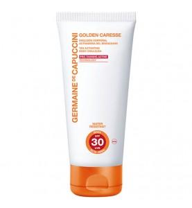 Germaine de Capuccini Golden Caresse Tan Active Body Emulsion SPF30 / Эмульсия для тела для активации загара SPF 30, 200 мл