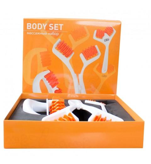 Набор из 3 массажеров для лица и тела Body Set