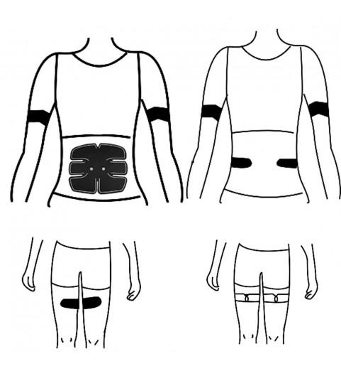 Импульсный массажер для тела Mio fit