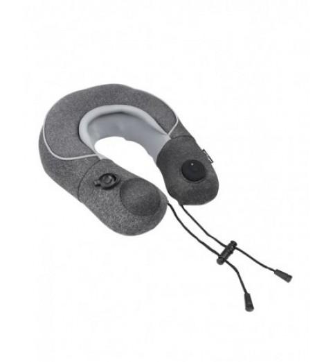 Подушка-массажер для путешествий надувная с роликовым массажем шеи AMG398, Gezatone